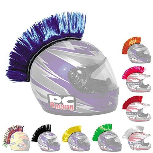 Mohawk motorcycle helmet